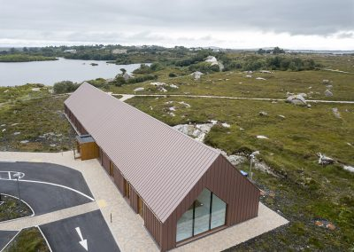 A&A Quinn - Pearse Visitor Centre - VM Zinc Pigmento Red (1)