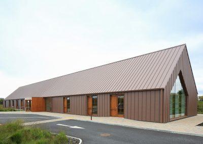 A&A Quinn - Pearse Visitor Centre - VM Zinc Pigmento Red (2)