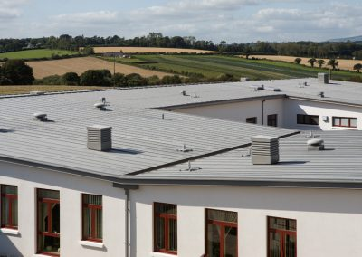 Copeland Coppersmiths - Enniscorthy Hospital - VM Zinc Quartz (1)